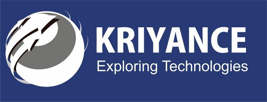 Inscrição nº                                         40                                      do Concurso para                                         Design a Logo for kriyance