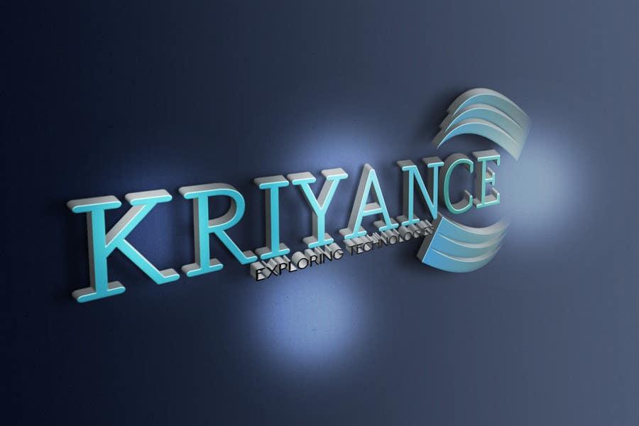Inscrição nº                                         43                                      do Concurso para                                         Design a Logo for kriyance