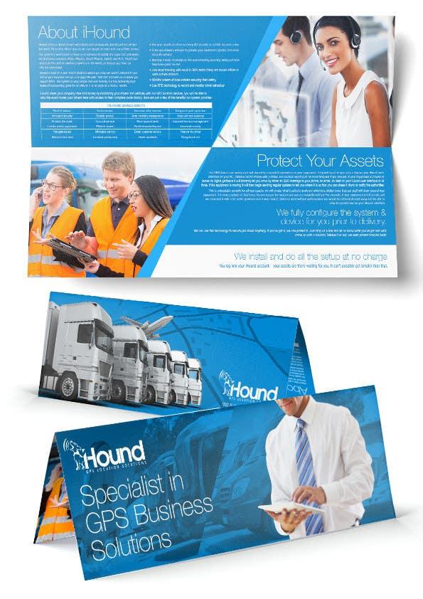 Konkurrenceindlæg #                                        23                                      for                                         Design a Brochure for iHound