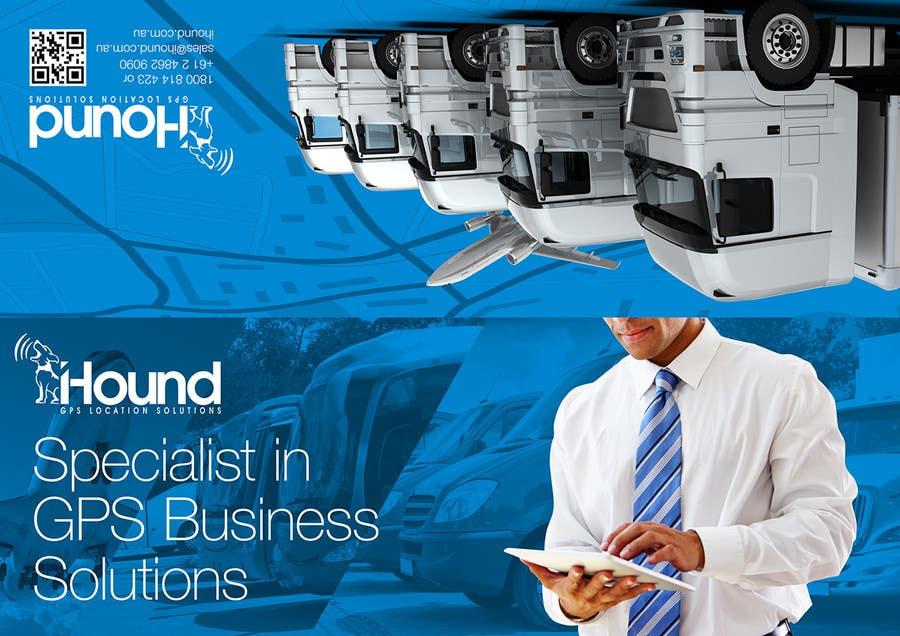 Konkurrenceindlæg #                                        27                                      for                                         Design a Brochure for iHound