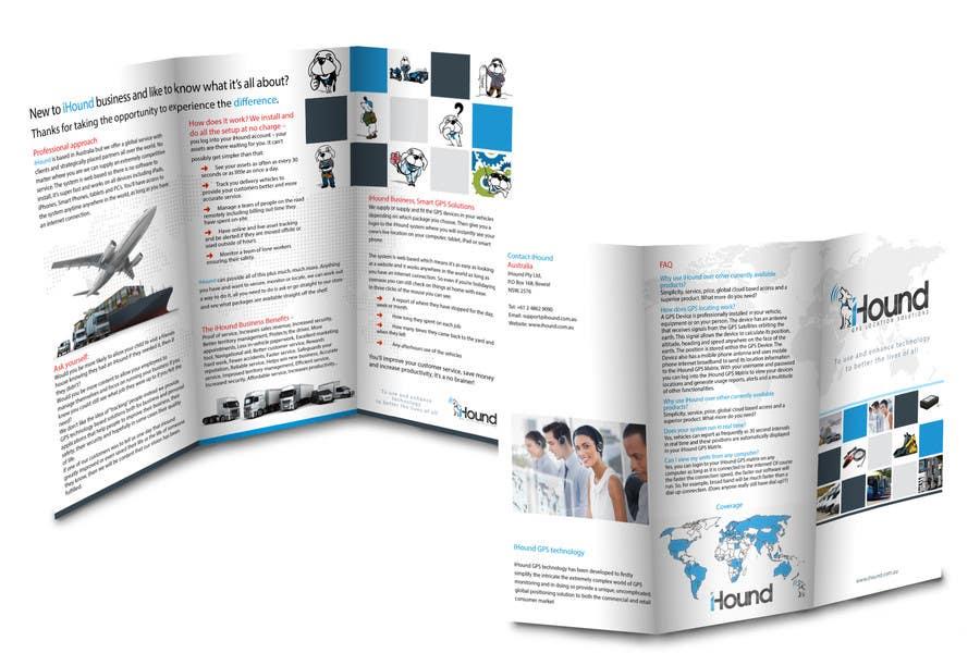 Konkurrenceindlæg #                                        11                                      for                                         Design a Brochure for iHound