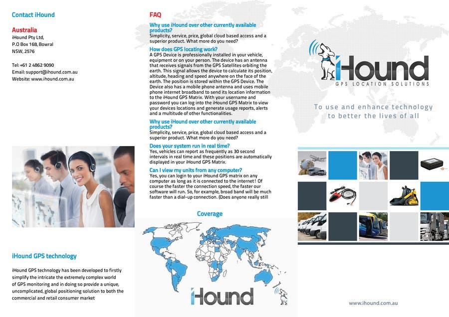 Konkurrenceindlæg #                                        18                                      for                                         Design a Brochure for iHound