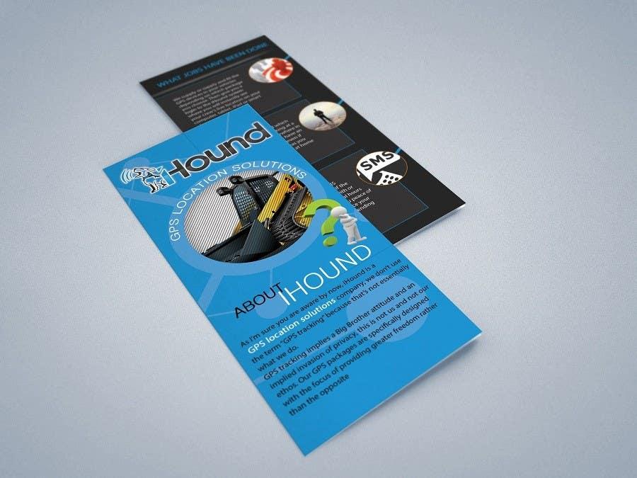 Konkurrenceindlæg #                                        4                                      for                                         Design a Brochure for iHound