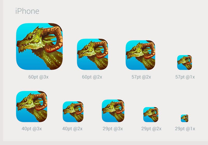Proposition n°5 du concours RPG App Icons