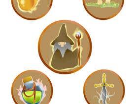Nro 19 kilpailuun RPG App Icons käyttäjältä kellynya