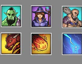 #4 for RPG App Icons by raphamorton