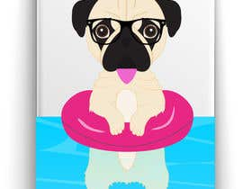 #15 for Swimming Pug Illustration Required by ricardohc1988