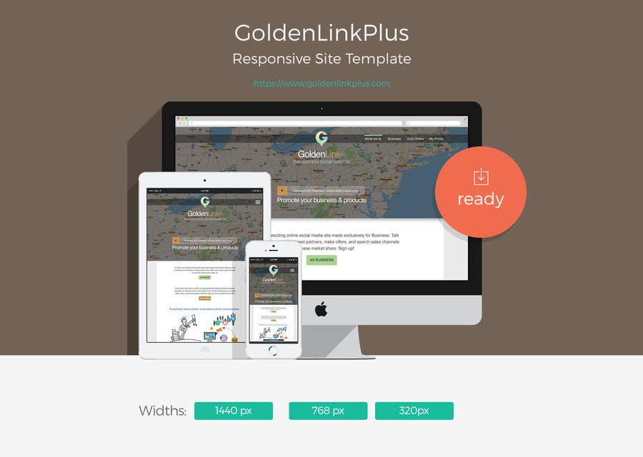 Contest Entry #24 for Landing page for Gold