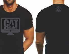 "#6 for T-shirt design ""Cat-programmer"" by azmantony74"