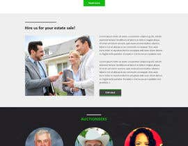#19 for Design a Website Mockup for Auctioneers by bestwebthemes