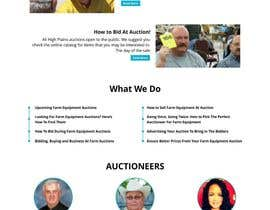 #6 for Design a Website Mockup for Auctioneers by ridsz