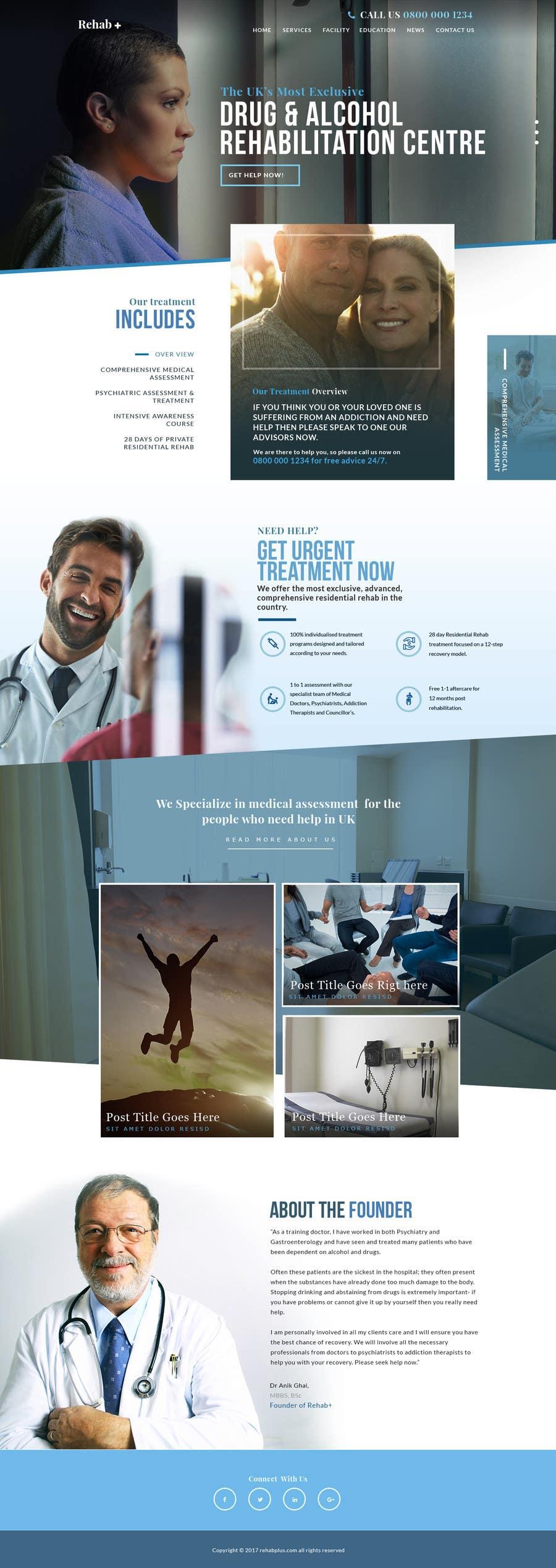 Proposition n°2 du concours Design Homepage design for my website