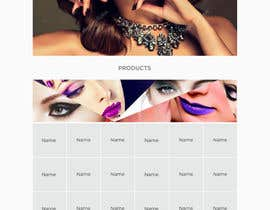 nº 38 pour Glam Makeup Website par DannicStudio