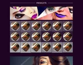 nº 49 pour Glam Makeup Website par DannicStudio