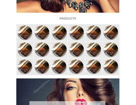nº 50 pour Glam Makeup Website par DannicStudio