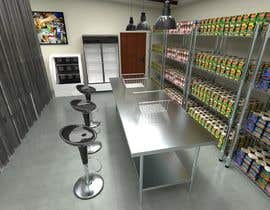 nº 10 pour Do some 3D Modelling of a Food Bank par aabdulgany