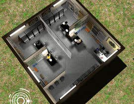 #12 for Do some 3D Modelling of a Food Bank by ondazerostudio