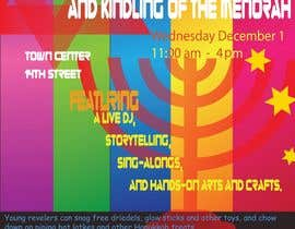 #7 for Graphic Design for TicketPrinting.com HANUKKAH POSTER & EVENT TICKET af akhiladecosta