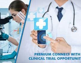 nº 10 pour Design a banner for clinical research web app par savitamane212