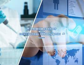 nº 17 pour Design a banner for clinical research web app par nurandalas