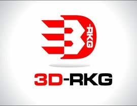 #183 for Logo Design for 3d-rkg af arteq04