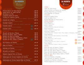 #11 for Diseño de carta para restaurante by Orilira