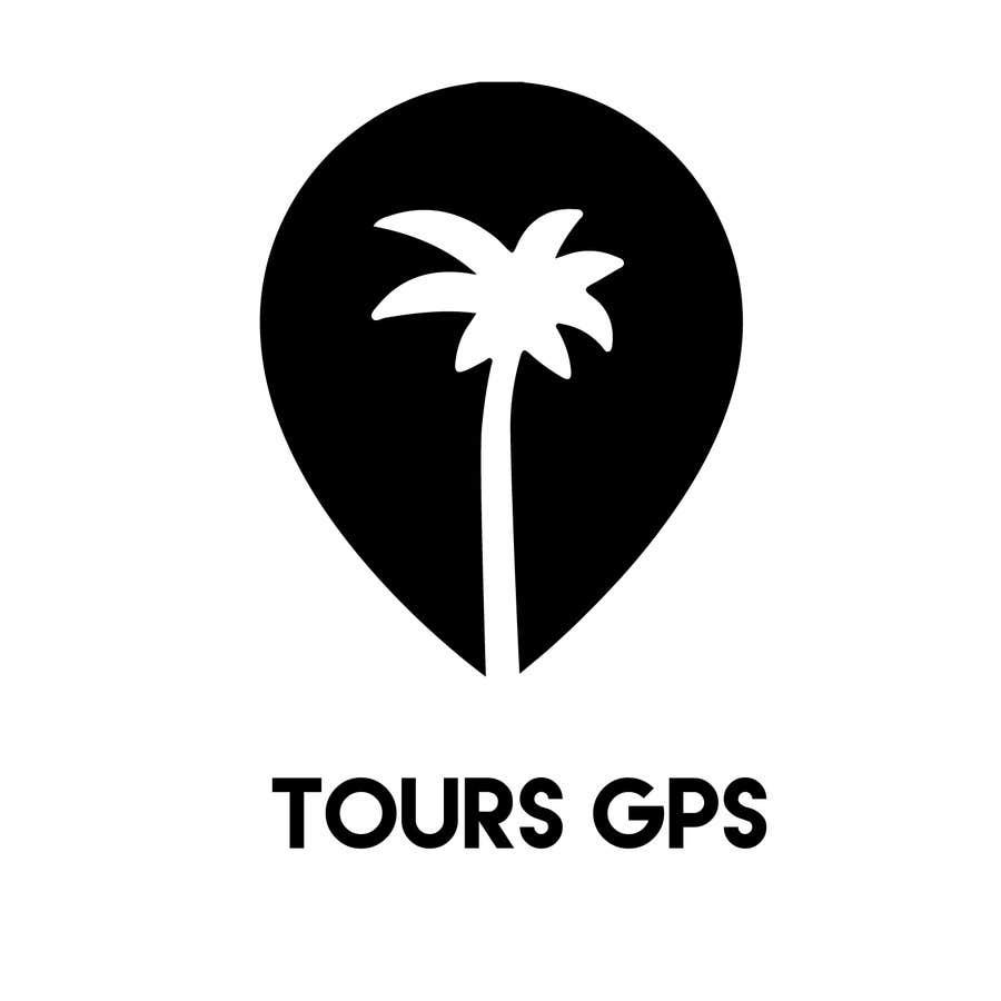 Kilpailutyö #                                        144                                      kilpailussa                                         To design a logo for Tours GPS