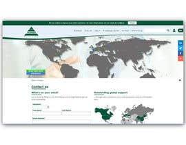 Nro 4 kilpailuun World map for website käyttäjältä Zdenno