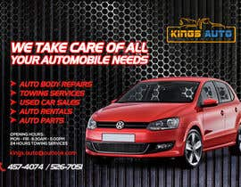#3 for King's Auto Facebook Ad Banner by phonixiaa
