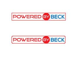 nº 334 pour Powered By Beck Logo par trustlogo