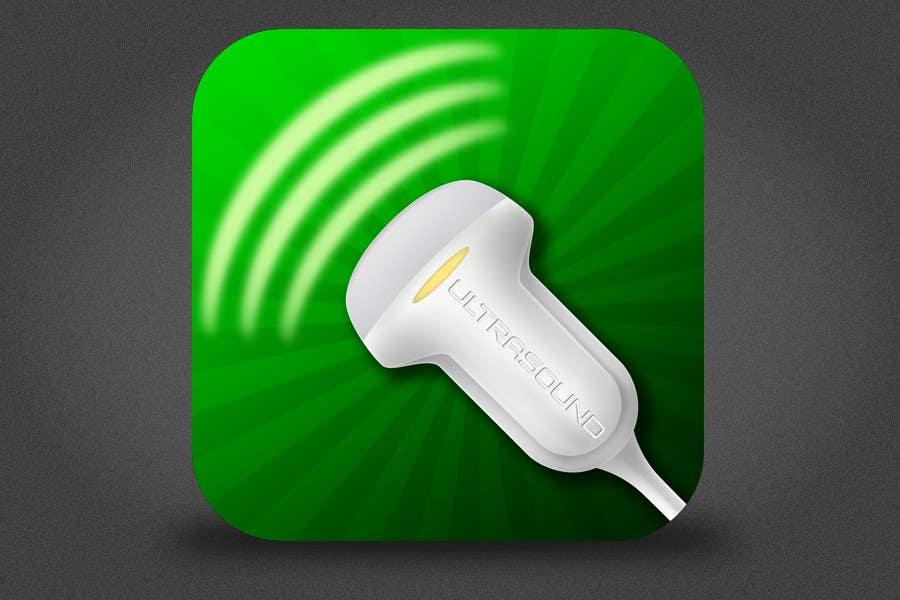 Inscrição nº 88 do Concurso para Icon or Button Design for iSonographer Iphone App