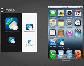 #72 untuk Icon or Button Design for iSonographer Iphone App oleh twocats