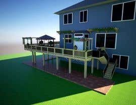 #26 for Create a concept home deck by ammarsya4