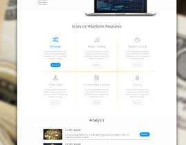 nº 8 pour Design Website with infographics for crypto currencies par sudpixel