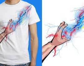 Nro 21 kilpailuun Design a T-Shirt_command lightning käyttäjältä anieshiaka