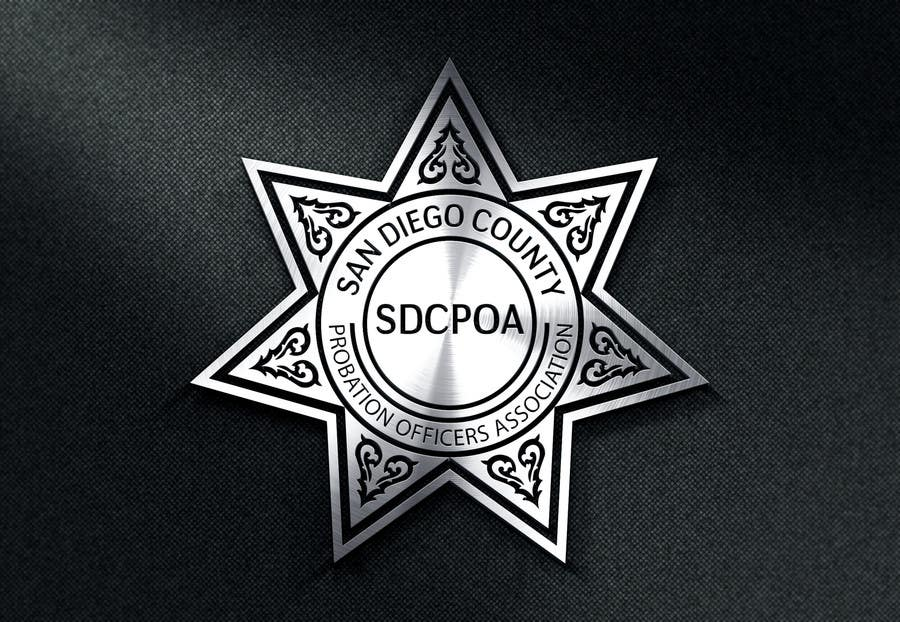 Proposition n°63 du concours Design a Logo for the SDCPOA the San Diego County Probation Officers Association