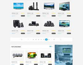 #23 for Re-design teh layout to our website homepage by sudpixel