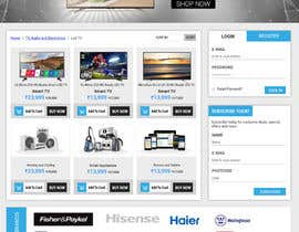 #25 for Re-design teh layout to our website homepage by kumardilip81