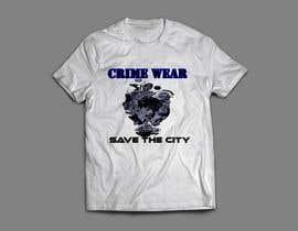 nº 107 pour Design a T-Shirt_Crime_Wear (save the city)v1 par adnanhabib9810