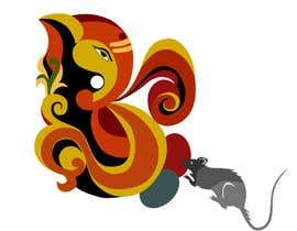 nº 8 pour logo with lord ganesh par renuthakur99