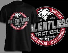 nº 55 pour Relentless Tactical is looking for cool T Shirt Designs! par erwinubaldo87