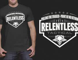 nº 37 pour Relentless Tactical is looking for cool T Shirt Designs! par cjaraque