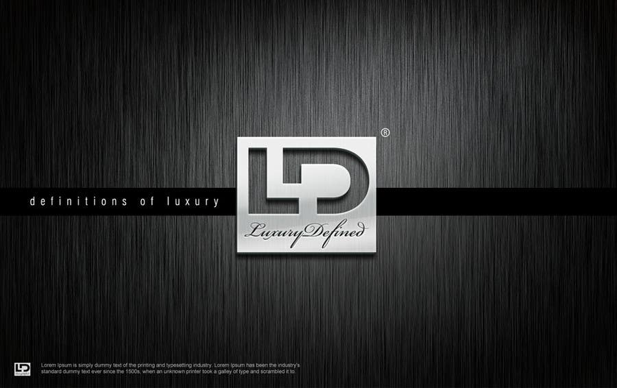 #86 for Logo Design for Luxury Defined by osmanoktay06sl