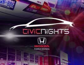 nº 40 pour Civic Nights Postcard/Flyer par nikiramlogan