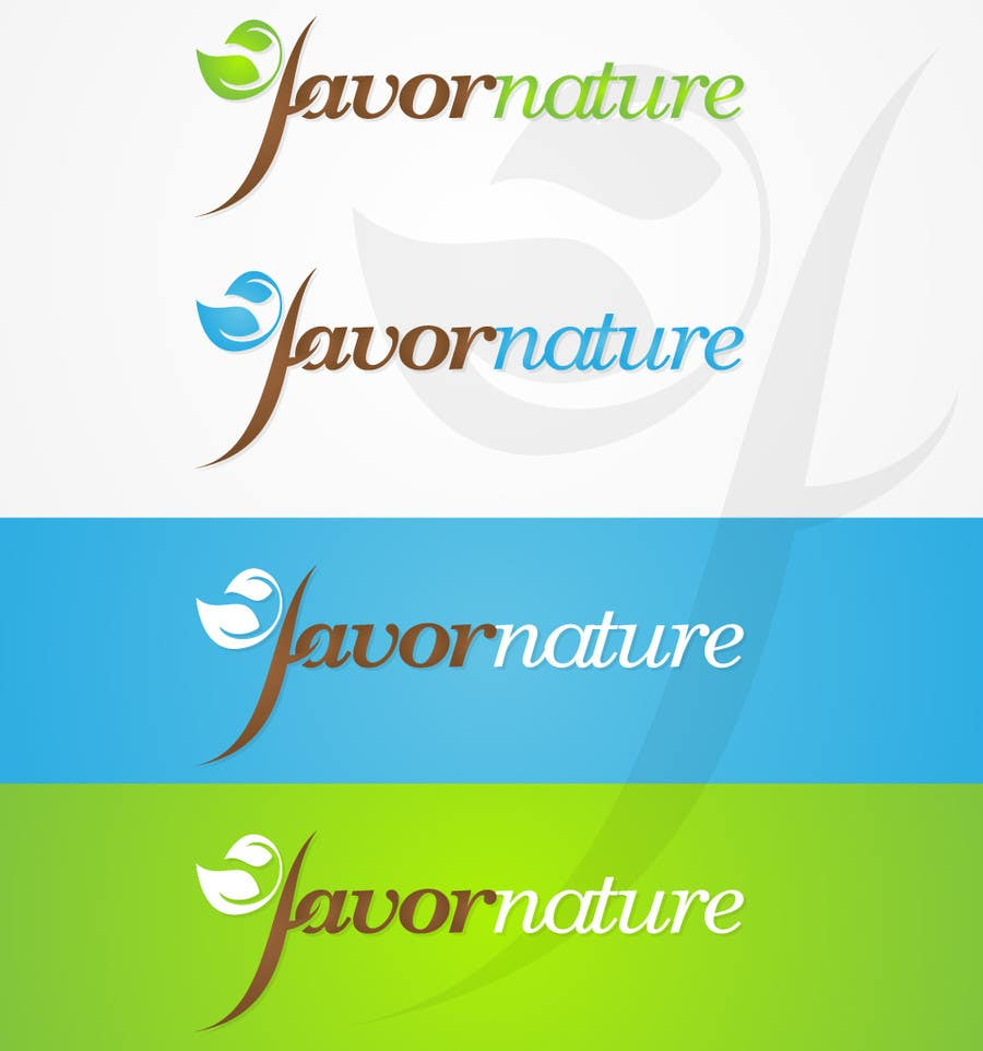 Logo Design Contest Entry #337 for Logo Design for Favor Nature