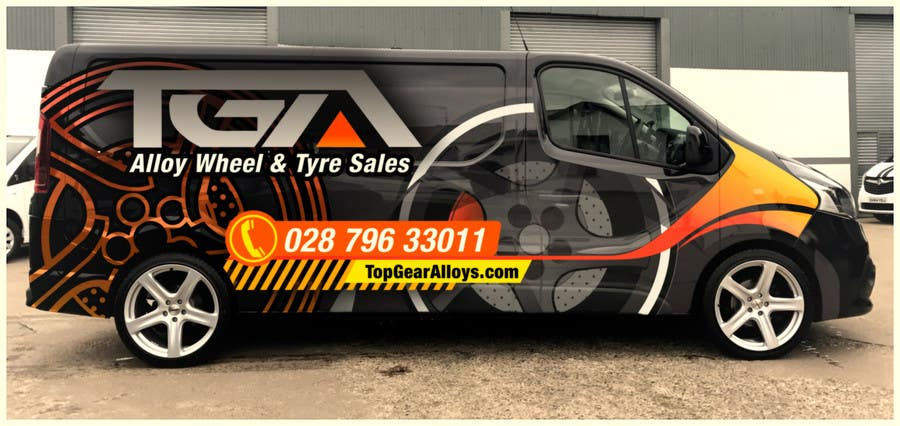 85e3368b82 Entry  28 by Watfa3D for VEHICLE GRAPHICS DESIGN