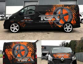 #25 for VEHICLE GRAPHICS DESIGN by Roman8888