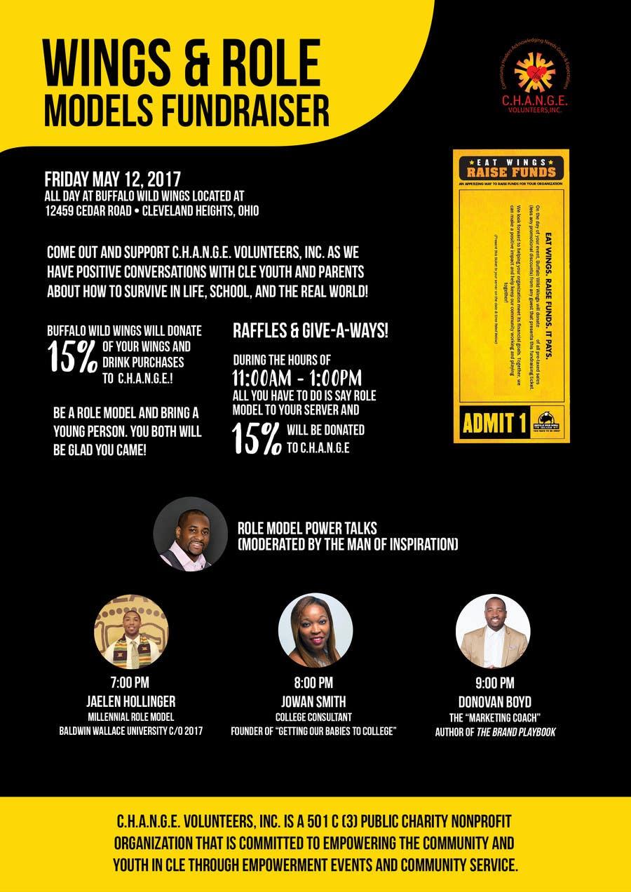 Proposition n°10 du concours Design a Cool Fundraiser Flyer!