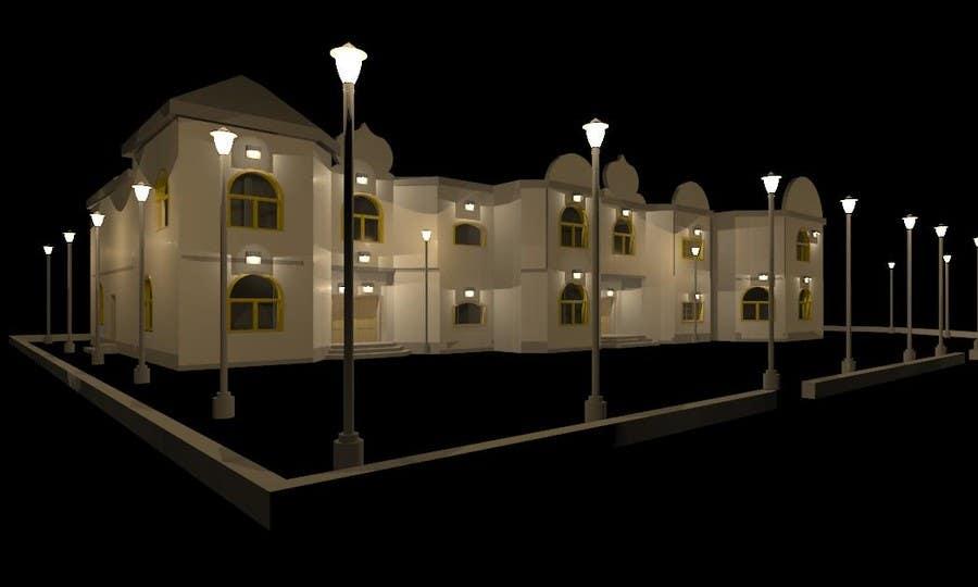 Proposition n°14 du concours 2d & 3d for residential villa