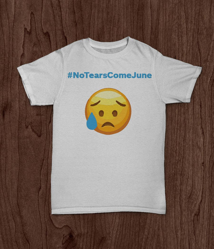 Proposition n°2 du concours Design a T-Shirt w/ Crying Emoji